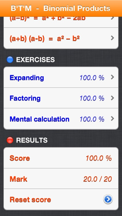 Special Binomial Products screenshot-4