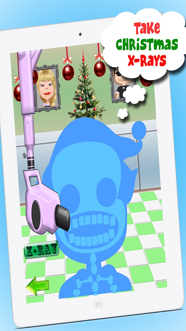 Christmas Dentist Office Salon Makeover Story - Fun Free Doctor Nurse Kids Games for Boys and Girls hack tool