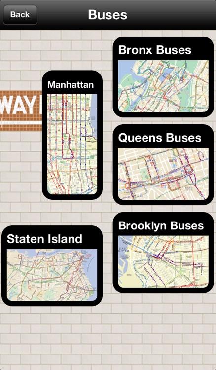 New York Subway Map by Dayou screenshot-4