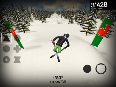 MyTP 2.5 - Ski, Freeski and Snowboard на iPad