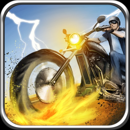 A Bike Race in Route 66 - Road Chase Racing