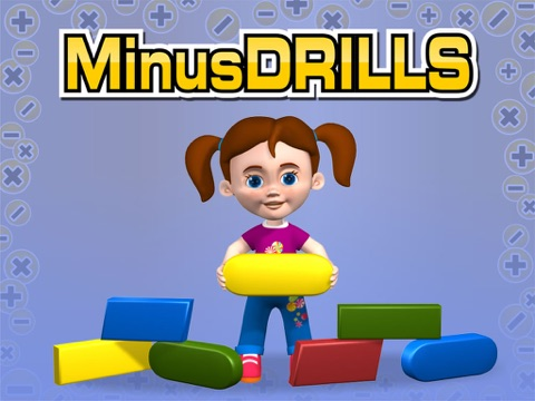 Minus Drills. - Autism Series-ipad-0