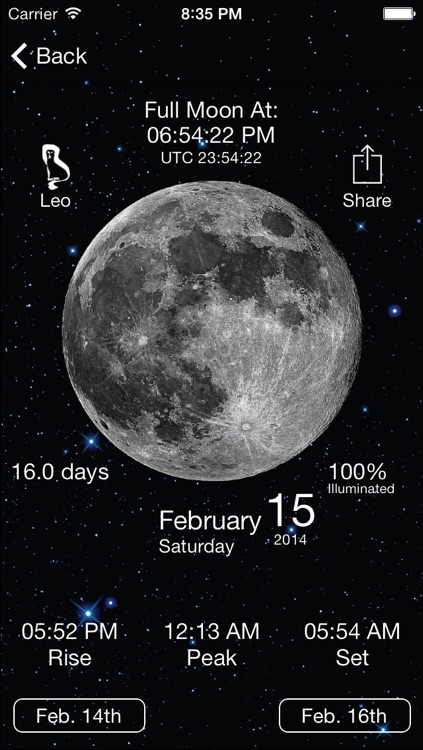 Solar Moon - Phase Calendar & Sun Info Tracker screenshot-3