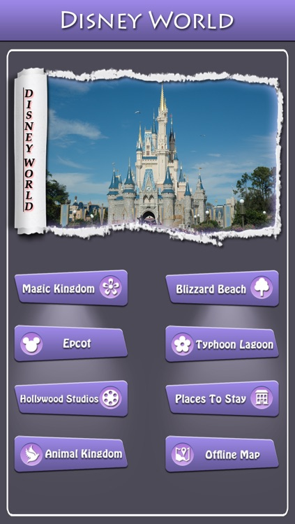 Offline Travel Guide Disney World screenshot-0