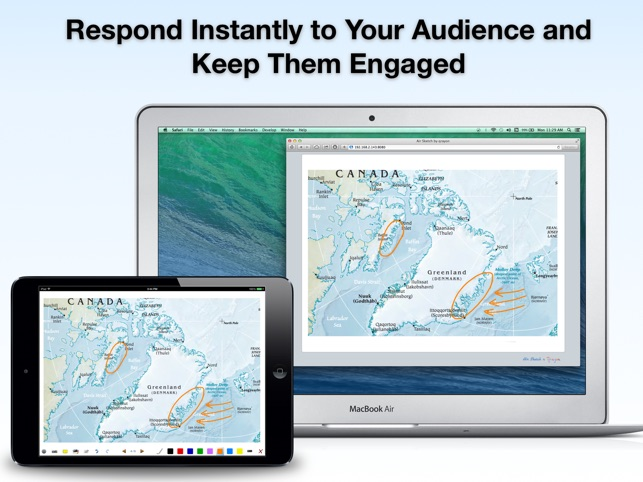 Air sketch interactive whiteboard and wireless presentations on the air sketch interactive whiteboard and wireless presentations on the app store gumiabroncs Image collections