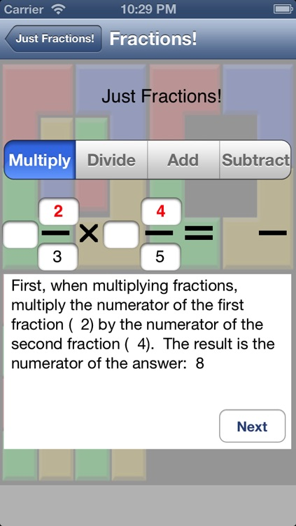 Just Fractions