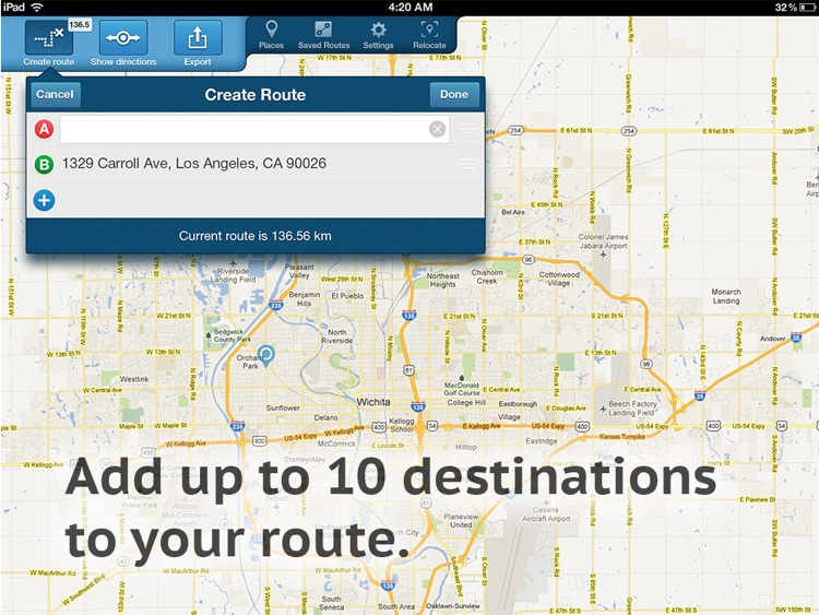 Get Directions HD screenshot-1