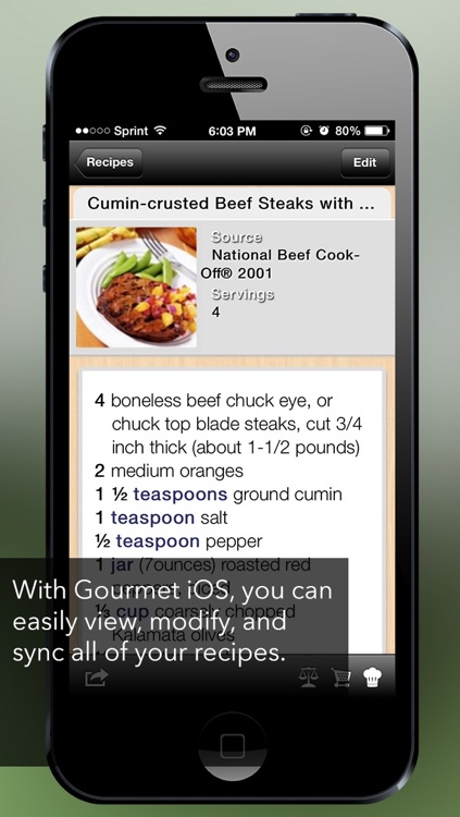 Gourmet Mobile screenshot-0