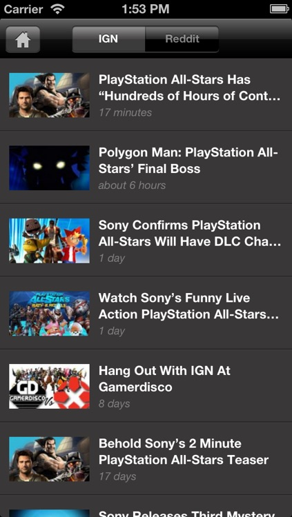 IGN App For PlayStation All-Stars Battle Royale screenshot-3