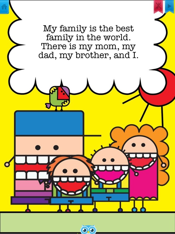 My Family - Have fun with Pickatale while learning how to read!