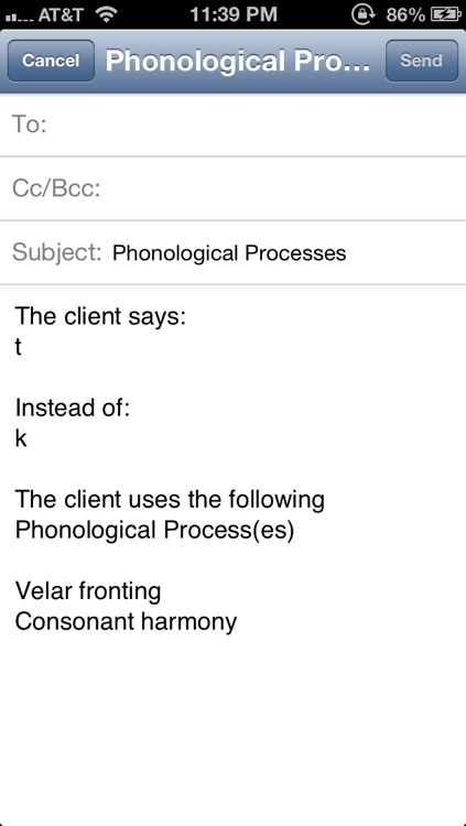 Phonological Process Finder screenshot-3