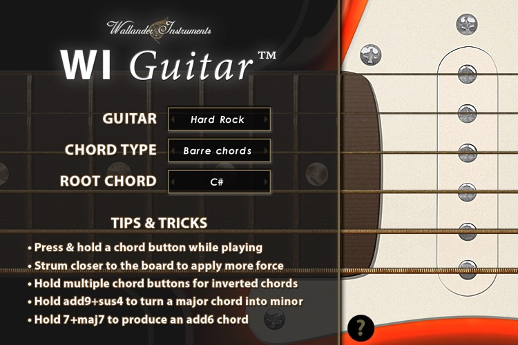 WI Guitar™ screenshot-3