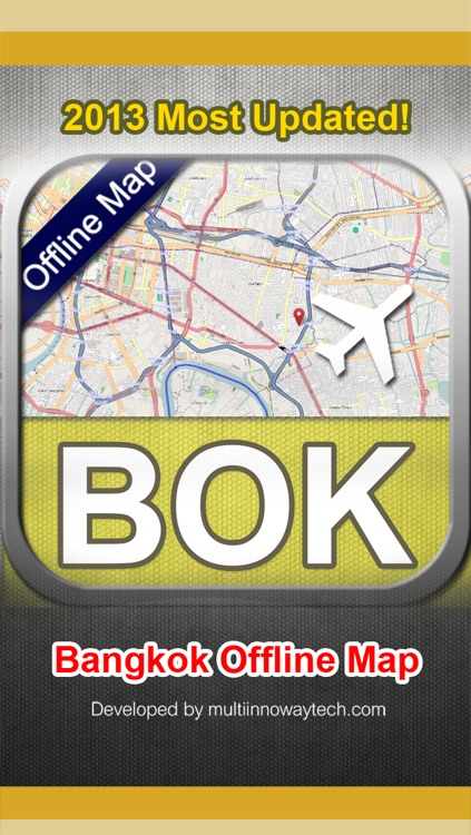 Bangkok Offline Map Pro screenshot-4