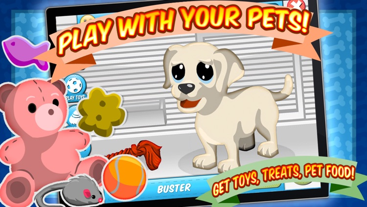 Sunnyville Pets Shop Game – Play Fun Free Pet Store Kids Games screenshot-2