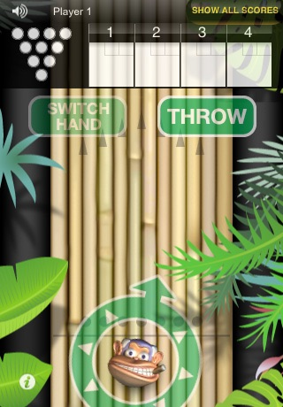 Monkey Bowl Lite - Free Bowling Fun in the Jungle screenshot-3