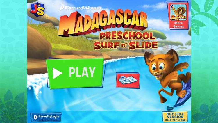 Madagascar Preschool Surf n' Slide