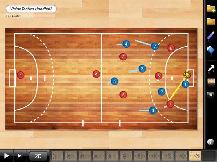 VisionTactics Handball screenshot-2