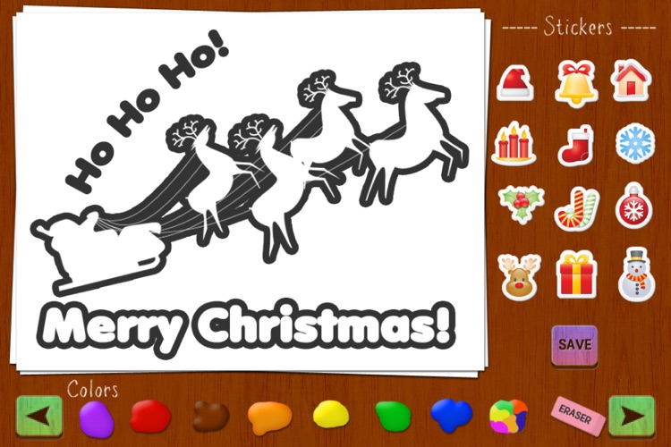 Christmas Draw and Send: Personal and Fun Greeting Cards screenshot-4
