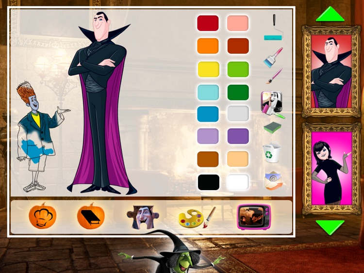 Hotel Transylvania Movie Booklip Deluxe screenshot-2
