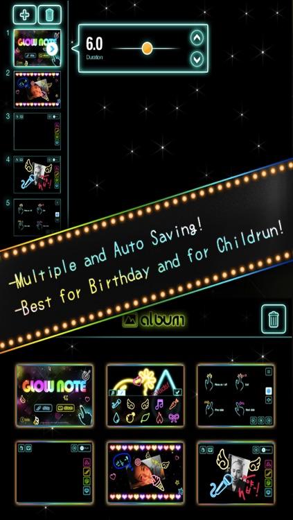 Draw Everything! GLOW Note Free! screenshot-4