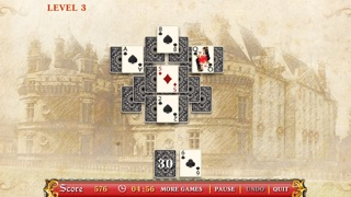 Palace Messenger Solitaire Free screenshot three