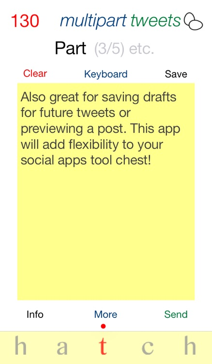 Hatch: Multipart Tweet Composer screenshot-4