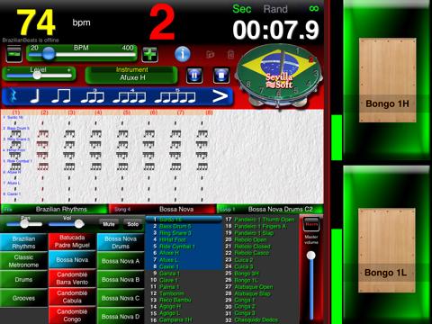 Brazilian Beats -The brazilian drum box