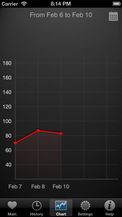 HeartBeat Pro - Heart Rate Monitor screenshot-3