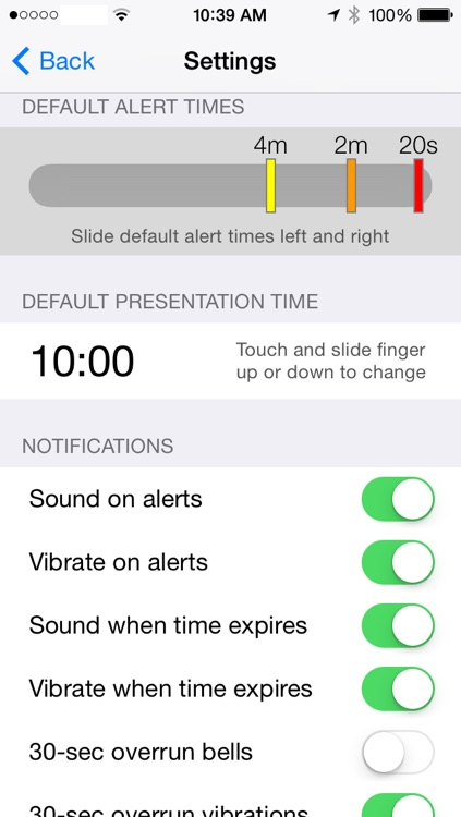 Presentime Synchronized Presentation Timer screenshot-4