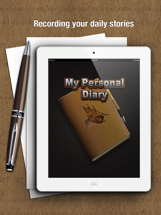 My Personal Diary HD screenshot-0