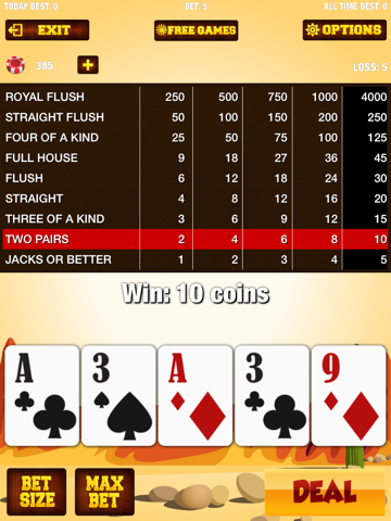 ワイルドウェストビデオポーカーゲーム - ウィン毎日のボーナスペイアウトのおすすめ画像4