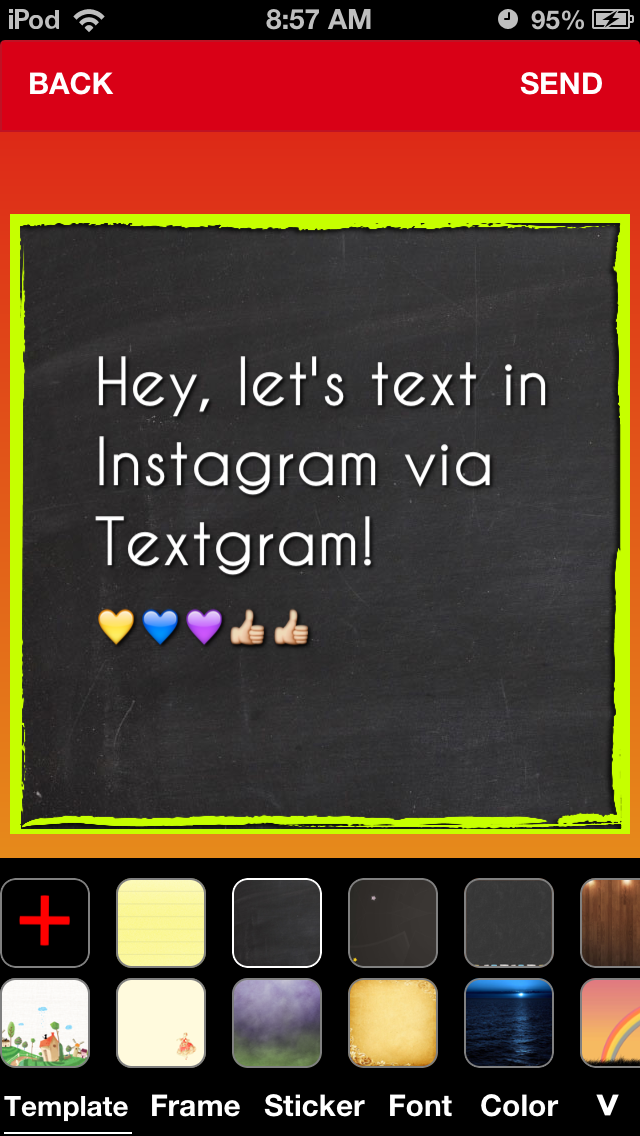 TextPic - Texting with Pic FREE screenshot