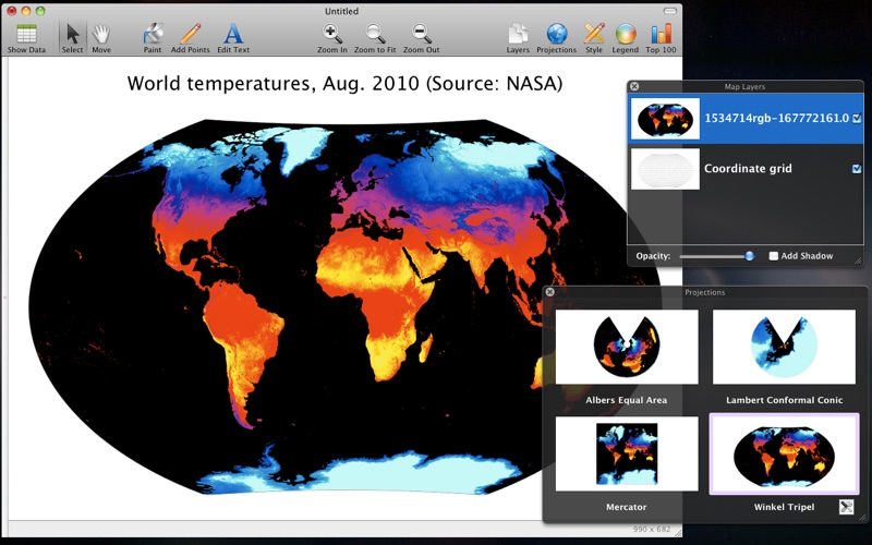 Magic Maps for Mac