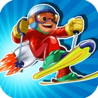 Jetpack Ski Flying Stunt: Winter Sports Adventure icon