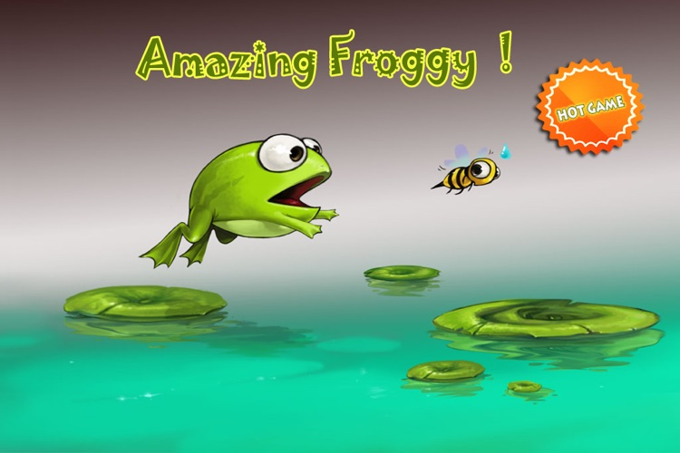 Amazing Froggy!