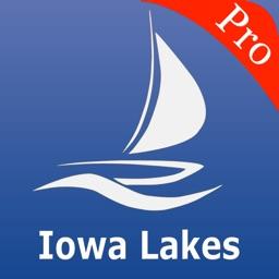 Iowa Lakes Nautical charts pro