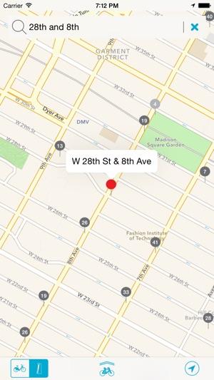 Bike NYC - New York Citi Bike Map im App Store City Bike New York Map on
