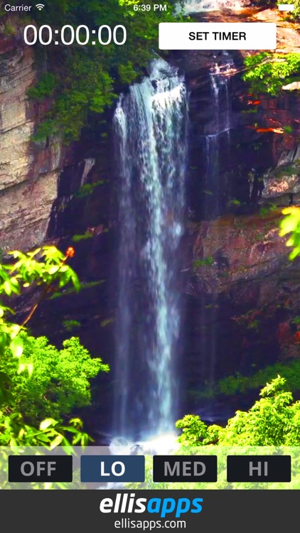 Bed Time Water Fall - White Noise Sleep Sounds