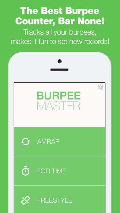 Burpee Counter - The Only Workout Tracker That Tracks Your Reps With Your Microphone!のおすすめ画像1