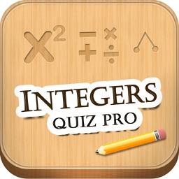 Integers Quiz Pro