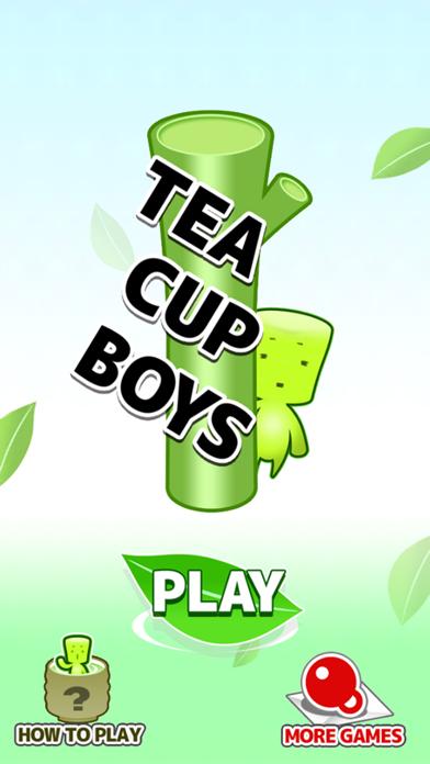 Tea cup boys - Free Cute Catch Game -Screenshot of 3