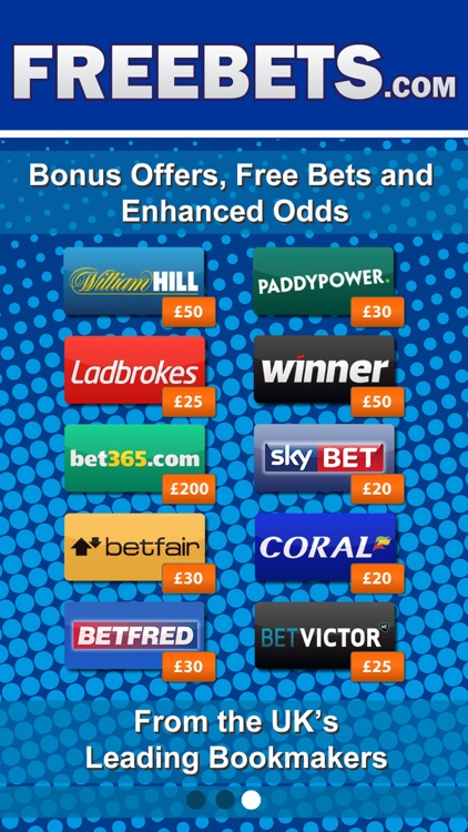 Bookmaker Free Bets