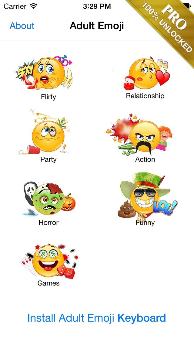 Adult Emoji Icons Pro Romantic Texting Flirty Emoticons Message