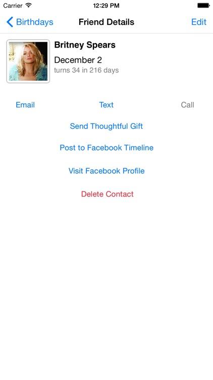 Birthday Reminder Pro+ screenshot-3
