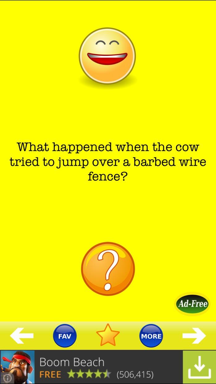 Jokes! LOL Best Funny Joke Book for Adults and Cool Kids FREE! Screenshot