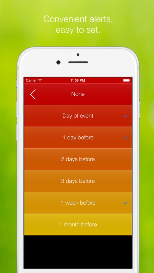 爱 时 间 - Love Time - 重 要 的 日 期 和 节 假 日 倒 计 时, countdown day holiday birthday App 截图