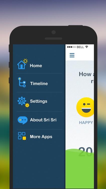 Track your Happiness with Sri Sri screenshot-4