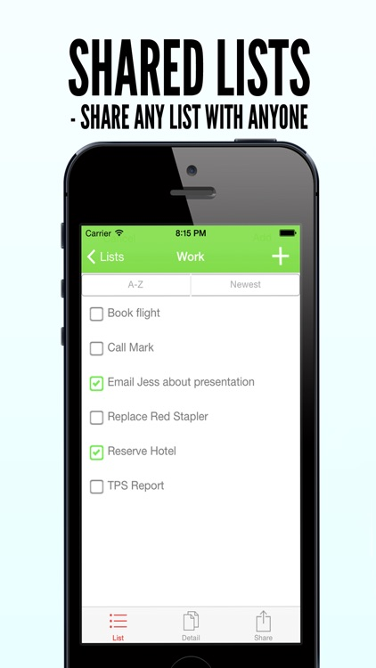 Shared Todo Lists - SharedLi