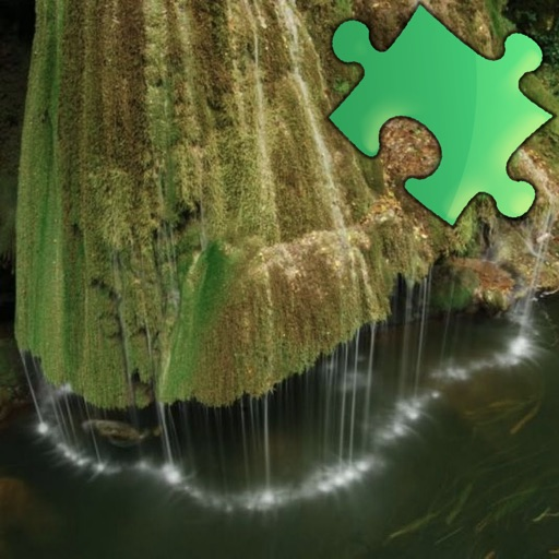 Waterfalls Puzzles iOS App