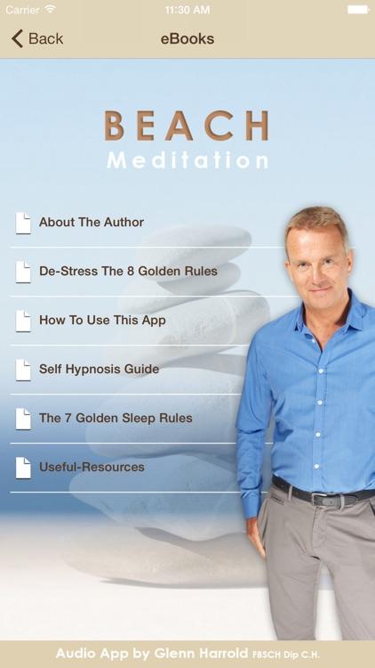Beach Meditation by Glenn Harrold: Self-Hypnosis Relaxation for  Sleep screenshot-3
